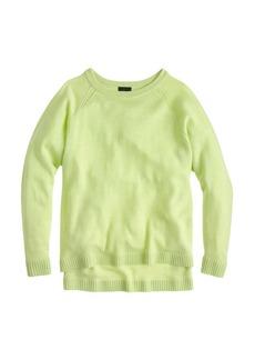 Collection cashmere pointelle boyfriend sweater