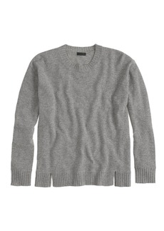 Collection cashmere side-panel sweater
