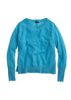 Collection cashmere side-slit sweater