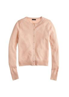Collection cashmere sparkle cardigan sweater