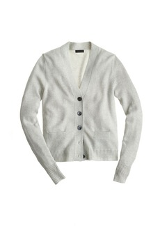 Collection cashmere sparkle V-neck cardigan sweater