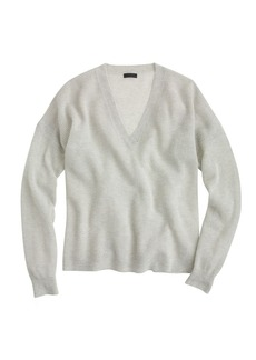 Collection cashmere V-neck beach sweater