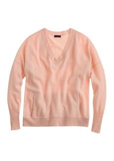 Collection cashmere V-neck pocket sweater