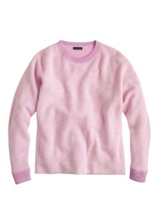 Collection cashmere waffle-stitch sweater