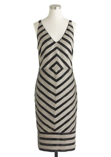 Collection chevron sequin dress