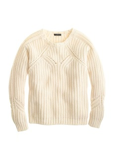 Collection chunky pointelle sweater