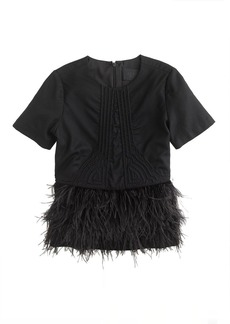Collection deco feather top