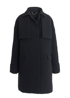 Collection double-cloth trench coat