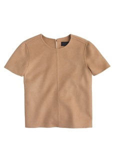 Collection double-faced cashmere tee