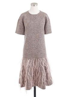 Collection embellished Italian tweed dress