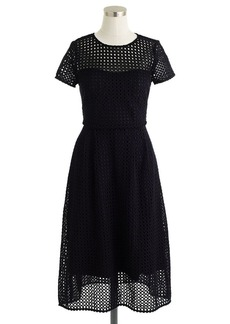 Collection eyelet dot dress