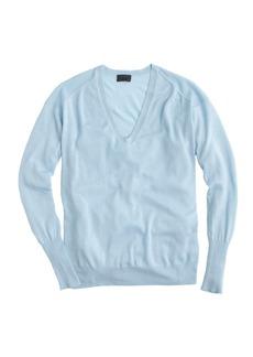 Collection featherweight cashmere boyfriend V-neck sweater