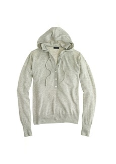 Collection featherweight cashmere henley hoodie