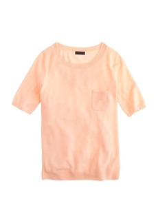 Collection featherweight cashmere pocket tee