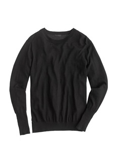 Collection featherweight cashmere rib-trim sweater