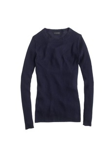 Collection featherweight cashmere three-quarter sleeve ribbed tee