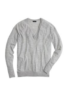 Collection featherweight cashmere V-neck boyfriend sweater