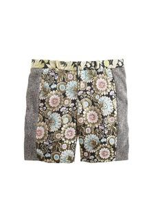 Collection floral tweed bermuda short