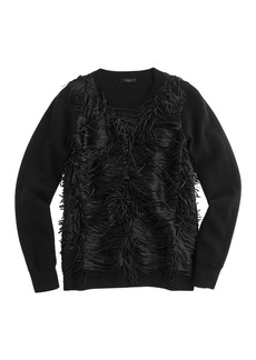 Collection fringe sweater