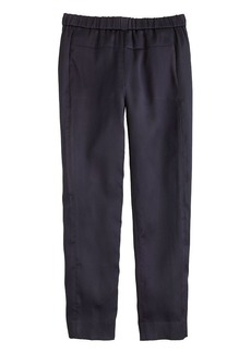 Collection Italian satin pull-on pant