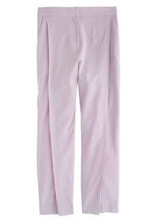 Collection Italian wool pleated cropped pant
