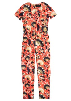 Collection jumpsuit in hibiscus floral