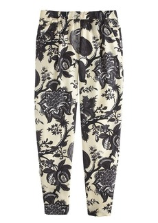 Collection noir floral pant