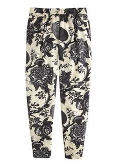 Collection noir floral pant