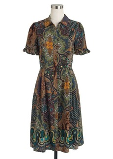 Collection paisley shirtdress