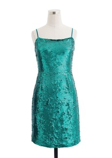 Collection peacock sequin dress