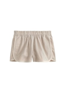 Collection perforated leather short