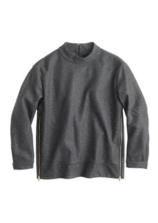 Collection perforated wool top