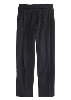 Collection pleated crop pant
