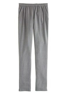 Collection pleated pull-on pant