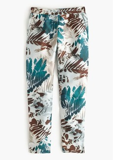 Collection pull-on pant in shadow leaves