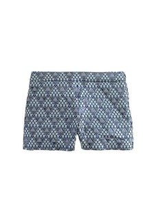 Collection pyramid brocade short
