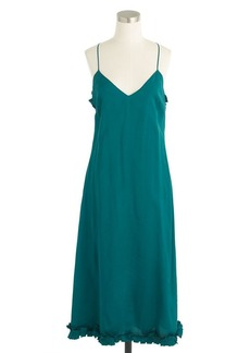 Collection ruffle-hem dress