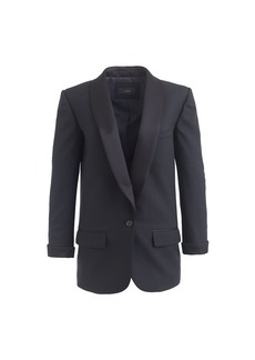 Collection shawl-collar tuxedo blazer