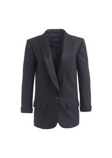 Collection shawl-collar tuxedo blazer