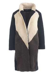 Collection shearling coat