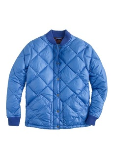 Collection shiny puffer jacket