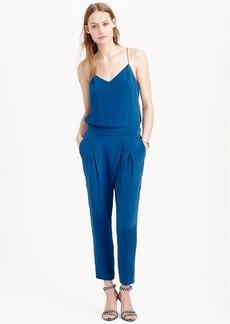 Collection silk crepe de chine jumpsuit