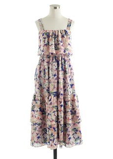 Collection silk floral dress