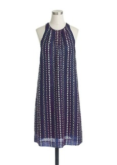 Collection stacked-sequins dress