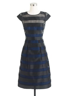 Collection stripe organza dress