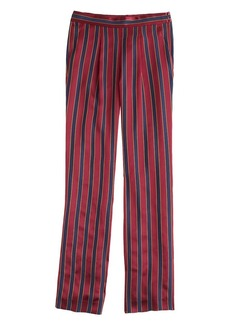 Collection stripe satin pant