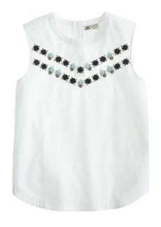 Collection Thomas Mason® for J.Crew embellished shell
