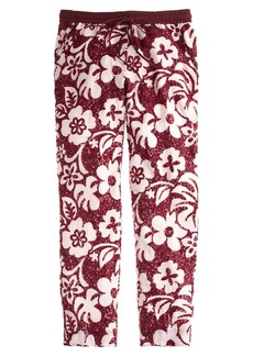Collection tropical sequin pant