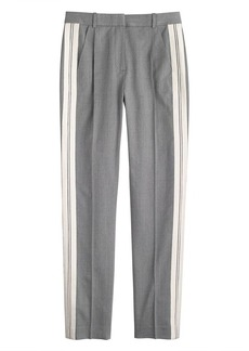 Collection twill-stripe tux pant
