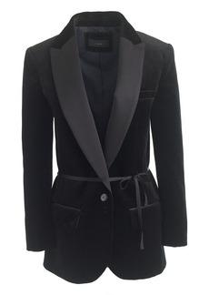Collection velvet shawl-collar tuxedo blazer